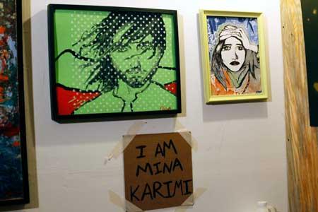 Greenpoint Artist Mina Karimi