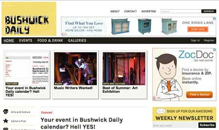 New Look Bushwick Daily