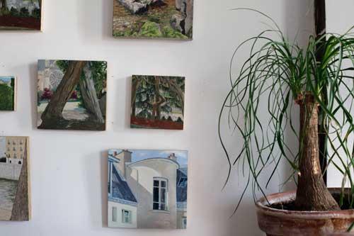 chris schade plein air artist go brooklyn greenpoint art studio