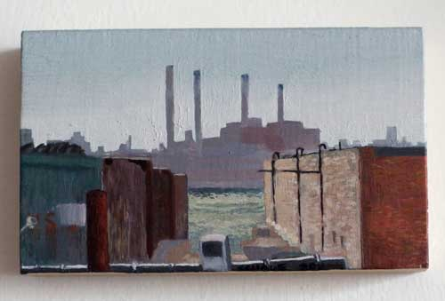 smoke stacks painting chris schade go brooklyn