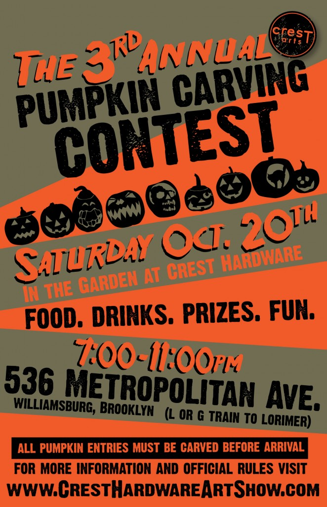 Crest Hardware S Pumpkin Carving Contest 10 20