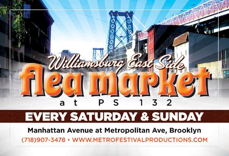 Williamsburg East Side Flea Market