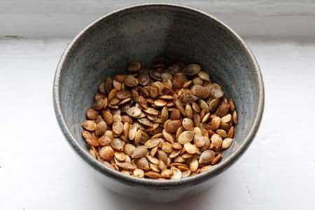 roasted squash seed