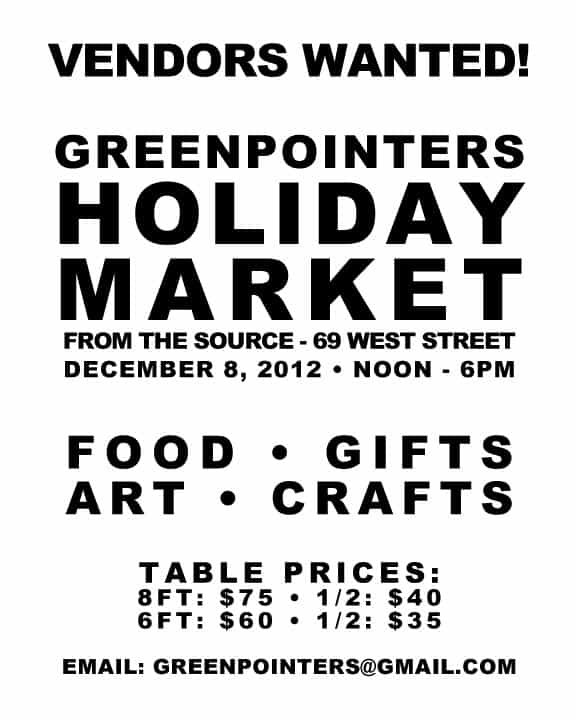 Greenpointers Holiday Market