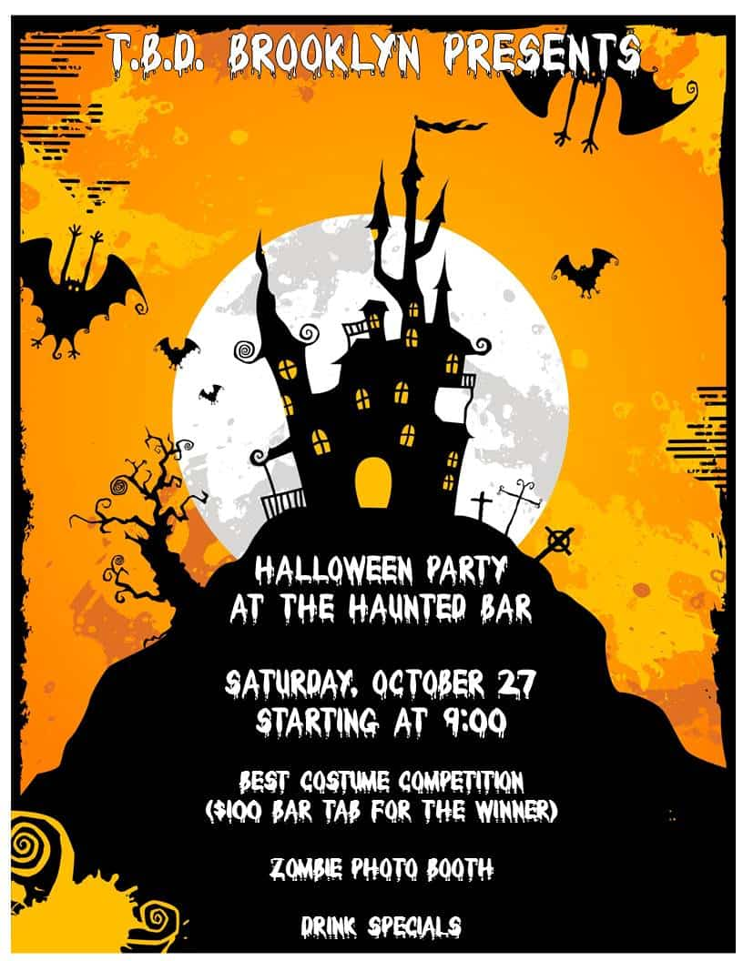 TBD HALLOWEEN PARTY