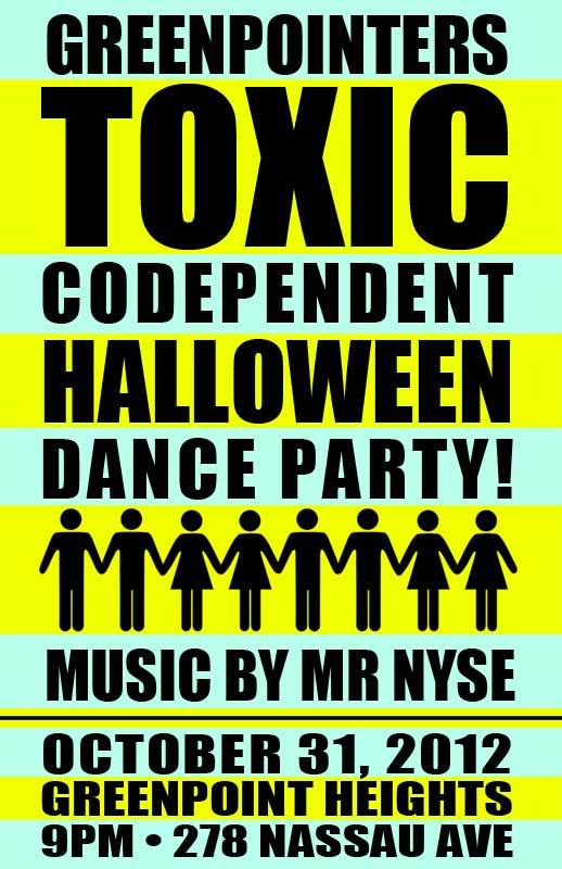halloween toxic dance party greenpoint