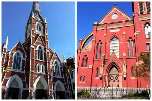 Milton St Churches Greenpoint