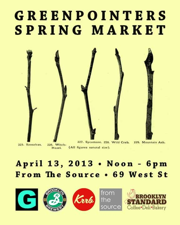 Greenpointers Spring Market Preview! This Saturday (4/13
