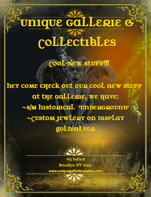 Unique-Gallerie-and-Collectibles_Flier_500