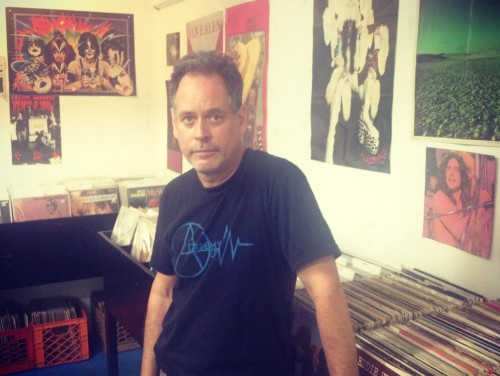 Mike Davis is moving his store, Academy Record Annex, to Greenpoint.
