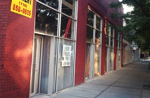 Academy Record Annex will occupy half of this storefront.