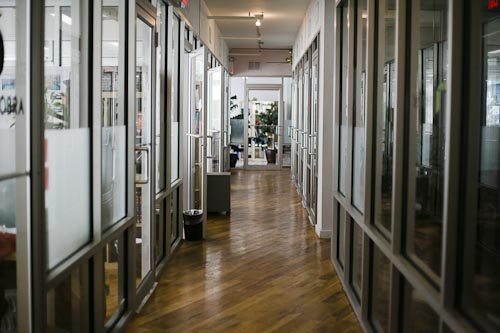 The Sunlit Halls Of Green Desk S