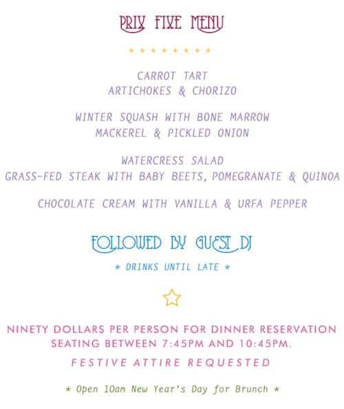 Glasserie_NYE_menu