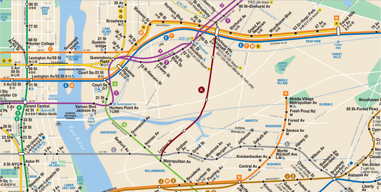 Subway Map Train.Kosciusko Bridge Train Subway Map Version Copy Copy