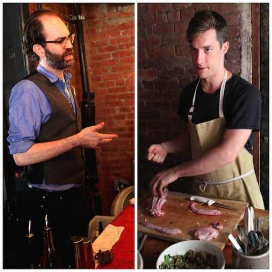 Glasserie Matt and Tim