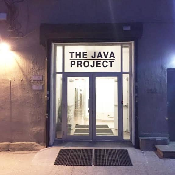 The Java Project, a new gallery and project space, will open this February. © The Java Project