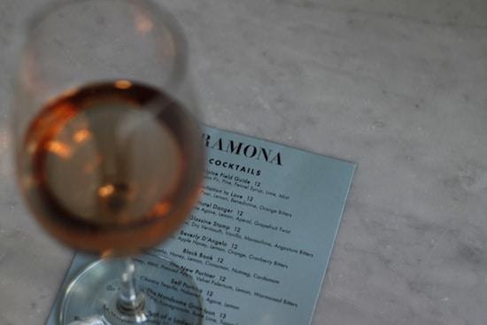 ramona happy hour greenpoint wine
