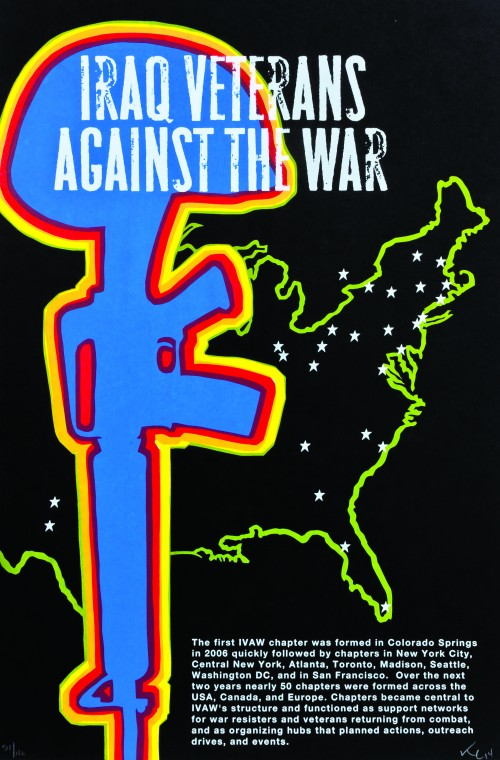 IVAW Chapters poster by Kevin Caplicki©