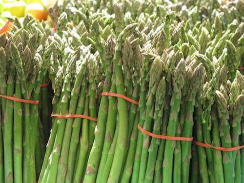 Asparagus season has begun at Jersey Farm