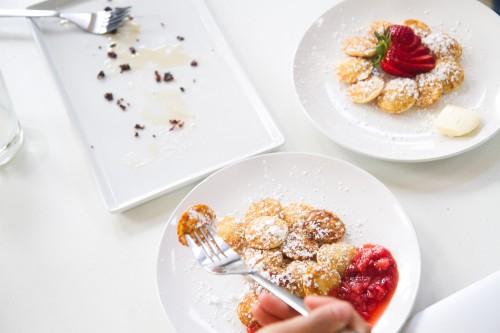 poffees greenpoint mini pancakes
