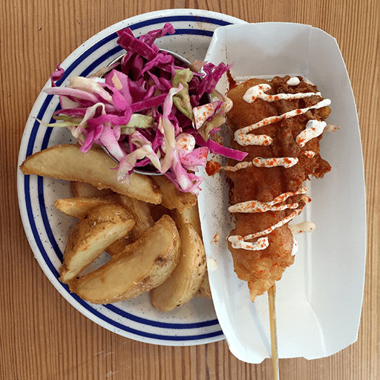 GreenpointFish_Lobster-Corn-Dog