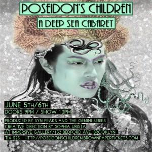 Poseidon's Children- flier