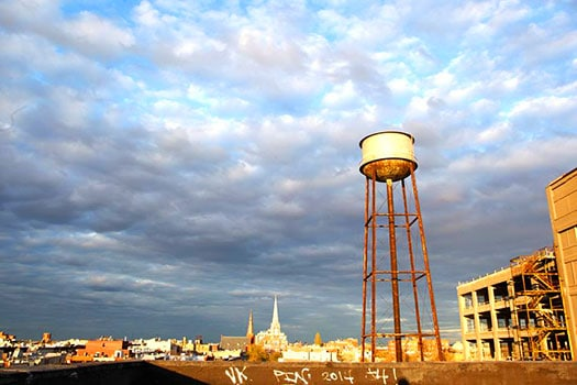View from Greenpoint Loft's Rooftop ©Julia Moak