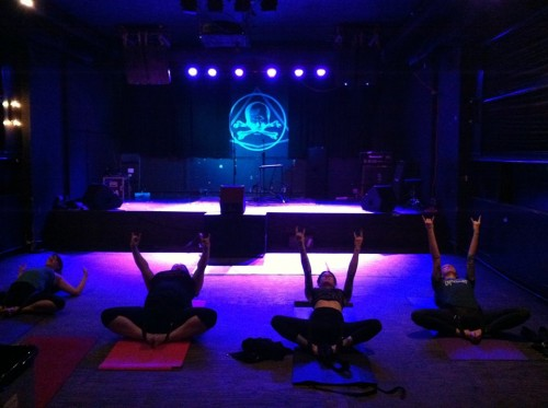 heavy metal yoga 2