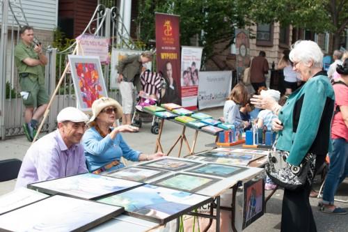 C/O Greenpoint Arts Block Festival. Artisan booth, Greenpoint Arts Block Festival 2014.