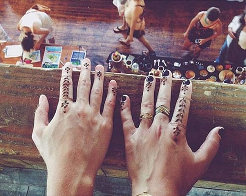 Henna Tattoos at the Greenpointers Market (Photo credit: @ogrigore)