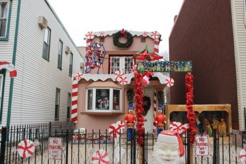 Presumably Santa's house. Photo: DNAinfo
