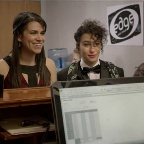 Featured on Broad City (S1; Destination Wedding)