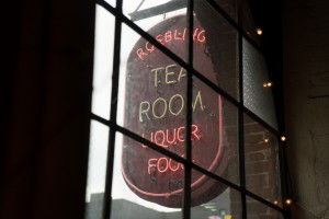 Roebling Tea Room - Douglas Lyle Thompson - Sign