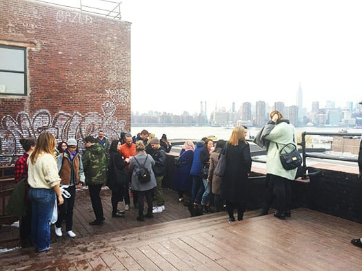 Rooftop at Greenpoint Loft