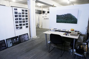 Studio space in the Fowler Arts Collective
