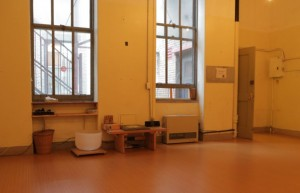 Inside Hosh's studio. Photo © Hosh Yoga.