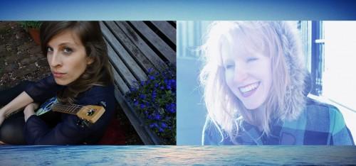 C/O Lesley Kernochan's Facebook page. Amelia Robinson, left, Kernochan, right.