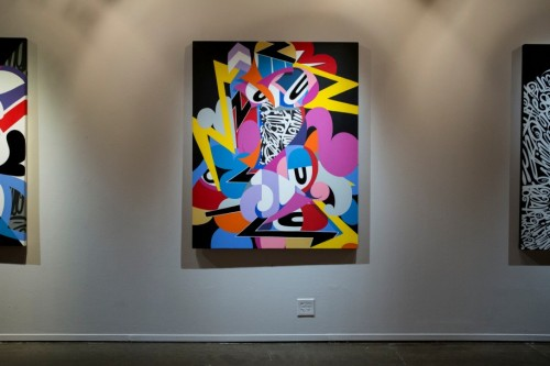 From the artist's 2014 show Chaos Complex at Public Functionary in Minneapolis