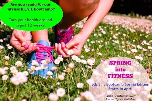 Female athlete getting ready for running in spring park. Fitness workout outdoor concept.