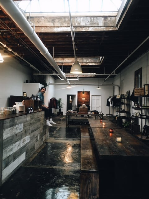 Upstate Stock's new flagship store and café. All photos courtesy of Upstate Stock and Bram Robinson.