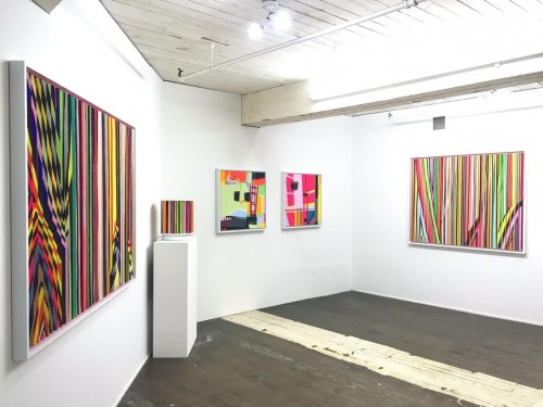 Pretty in Pink exhibition by Michael Hambouz
