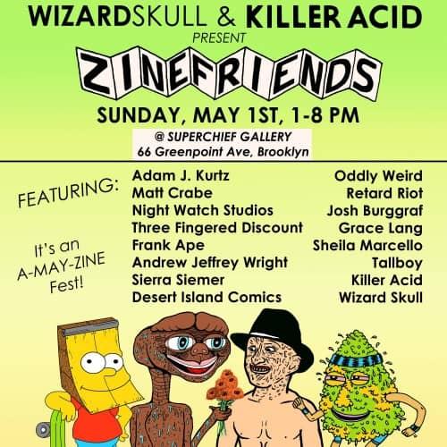 ZineFest in Greenpoint, BK