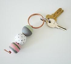 The Aspen Tree - wooden keychain