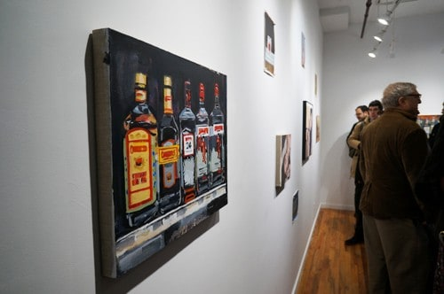 Walter Robinson at Owen James Gallery