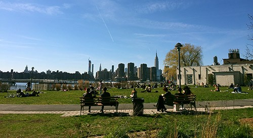 Transmitter Park in Greenpoint