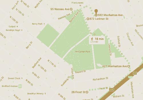 GOS Near McCarren Park