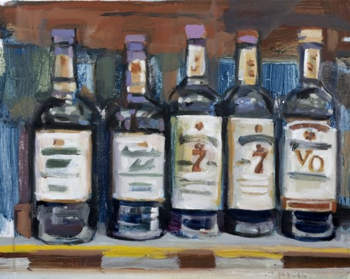 """Rye"" by Walter Robinson at Owen James Gallery"