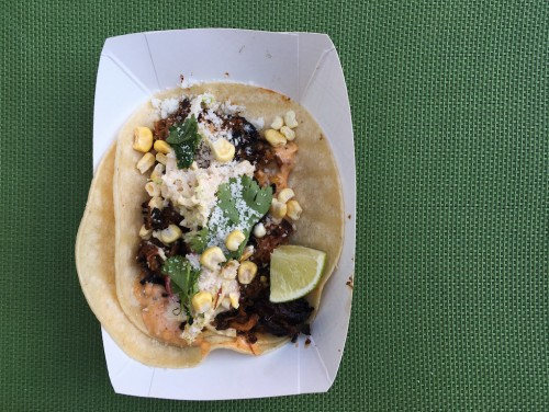 These are pork tacos from the Holy Smoke popup a few years ago. We can't guarantee the tacos on Sunday will look like this. Photo: Siobhan Wallace