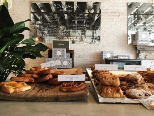 The morning pastries at Maman