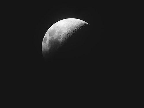 The Moon via Popscope